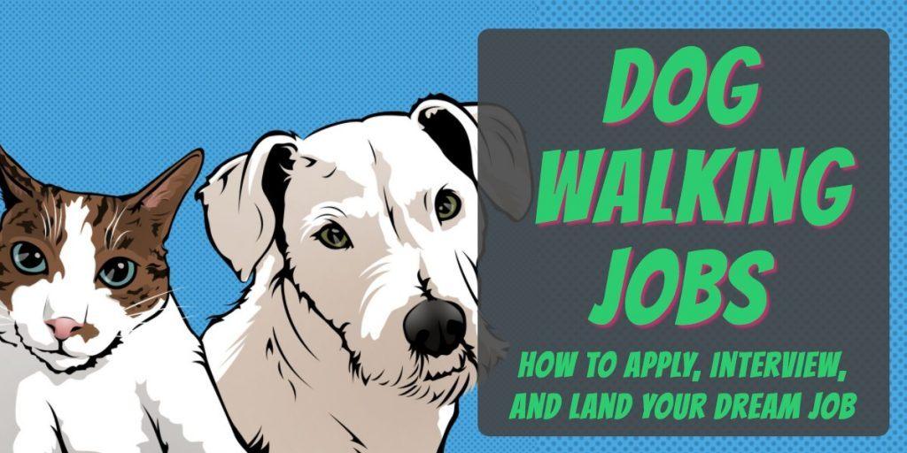 dog walking jobs