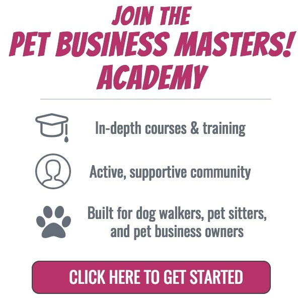 join the pet business masters academy